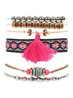 Summer Bracelets, Mix, Tassel Necklace, Jewelry, Fashion, Diy Accessories, Women's Work Fashion, Men's, Moda