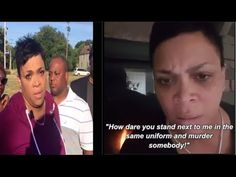 Police officer Nakia Jones who Went OFF about Alton Sterling Shooting Speaks to the media - YouTube