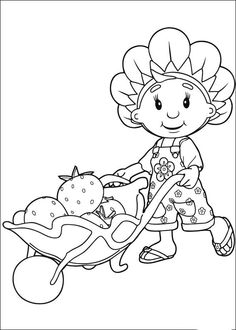 Fifi en haar bloemenvriendjes Kleurplaten 12