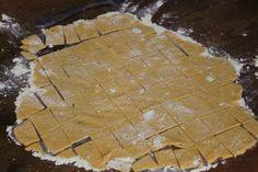 Gluten free sweet potato crackers