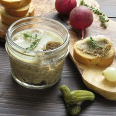 pork rillettes via @GarlicandZest