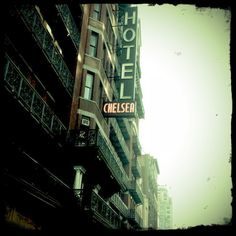 chelsea hotel by dustychenille-one of my favourite places in the whole world. Chelsea Hotel, Retro Photography, Lomography, Art Music, Photoshoot, Explore, Spaces, York, Nice