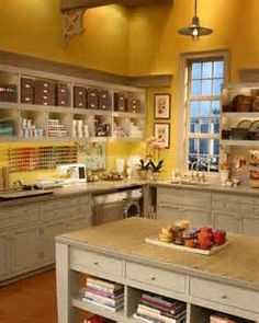 elegant craft room