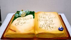 Happily Ever After Cake by Desiree Myers. Order from her at cakesbydes.com