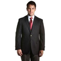 Men's Jean-Paul Germain Traditional Blazer, Size: 42 Short, Black