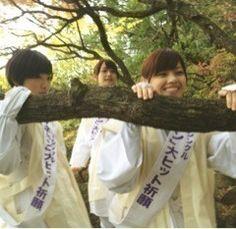 乃木坂46 (nogizaka46)  Ikoma Rina (生駒 里奈)  Fukagawa Mai (深川 麻衣)  Nishino Nanase (西野 七瀬)