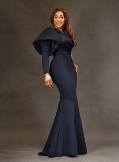 Classy Wear, Classy Outfits, Chic Outfits, Unique Ankara Styles, African Lace Dresses, African Fashion Ankara, Gowns Of Elegance, Wedding Dress Sleeves, African Attire