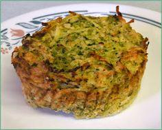 BIZZY BAKES: My Meatless Mondays - Broccoli Potato Kugel Muffins