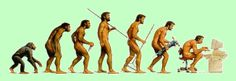 This pin is a play on the evolution picture we all have seen at some point in time. This version of the picture shows us evolving into an information age using computers and other communication devices in our everyday lives. Dorn Therapie, Bilder Download, Alexander Technique, Pose, Information Age, Human Evolution, Charles Darwin, Humor Grafico, Physical Activities