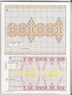 Possible new pattern? Cat Cross Stitches, Cross Stitch Embroidery, Embroidery Patterns, Hand Embroidery, Broderie Bargello, Swedish Weaving Patterns, Crochet Gloves Pattern, Swedish Embroidery, Monks Cloth