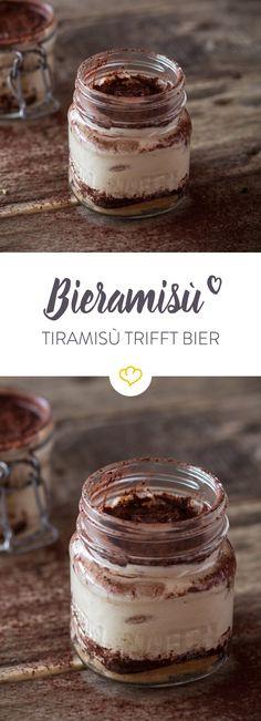 Dieses Rezept wandelt den Klassiker mal ein wenig ab. Anstatt Marsala oder Amaretto kommt hier Bier zum Einsatz.
