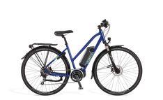 Ecoride Verve Steps DT 11.6Ah 48cm Sininen | Larunpyörä | Polkupyörät - Hybridit, Cyclocrossit, Maastopyörät