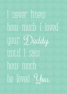 This could not be more true! Ben and I are soooo blessed! I could imagine raising a family with anyone else ;-))))