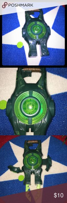 Selling this Green lantern Lantern that opens up and shoots on Poshmark! My username is: icesis22. #shopmycloset #poshmark #fashion #shopping #style #forsale #Green Lantern #Other