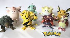 Pokemon Tomy Figure Charms by CharmsByIzzy on Etsy, £3.00
