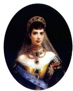 Marie Feodorovna--portraits & paintings