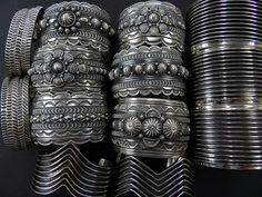 Navajo Sterling Silver Cuff Bracelets