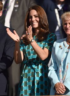 kate middleton - nice dress and print