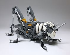 Nature's magnificence transformed into exquisite LEGO mechs