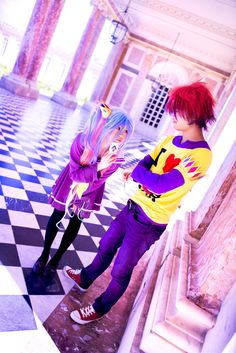 No Game No Life - Our Bond | Shiro + Sora by TrustOurWorldNow on DeviantArt