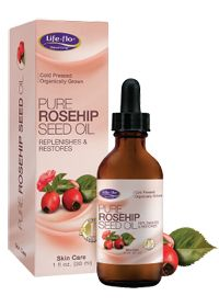 A rich, amber colored oil from the ripened fruit of the rose known as hips. Contains natural Retinol Acid (Vitamin A) and is well sought after for helping to replenish and restore mature of sun-exposed skin - Life-Flo - Natural Living - Cold Pressed - Organically Grown  PURE ROSEHIP SEED OIL - Replenishes & Restores - Skin Care-