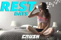 """Do you stress over taking rest days? They're just as important as the training you do in the gym! It gives you a mental break and time for your muscles to rest and recover. Click to learn more about the importance of rest days and how you know """"When To Take A Day Off From The Gym"""" :)"""