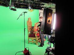 Getting Paris Hilton ready for her shot at Loyal Studios