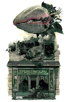 Little Shop of Horrors (1986) [1106 x 1658] : MoviePosterPorn