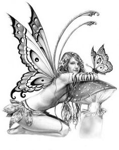 Image Detail for - ... tattoos.fairy tattoo ideas.fairy dragon tattoos.Good And Evil Fairy