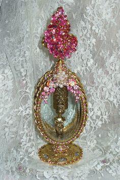 Bejeweled Perfume Bottle 25 By Debbie Del Rosario-Antique