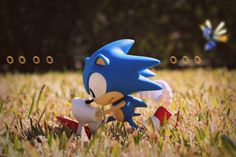 "Hanging on the edge of tomorrow, From the works of yesterday"" My litlle Sonic statue in the backyard to look like Green Hill Zone from . Green Hill Zone Sonic the Hedgehog Sonic The Hedgehog, The Sonic, Sonic Art, Video Game Art, Video Games, Sonic & Knuckles, Edge Of Tomorrow, Classic Sonic, Sonic Heroes"