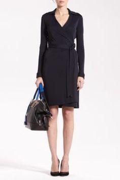 New Jeanne Two Matte Jersey Wrap Dress