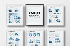 Big set of infographic elements by VitalexShop on @creativemarket