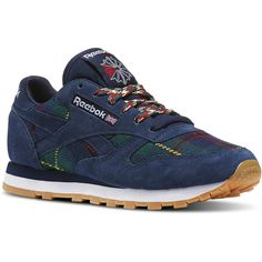 0f324953981 Reebok Classic Leather UK Roots (265 BRL) ❤ liked on Polyvore featuring  shoes