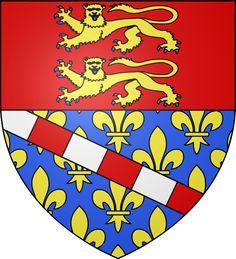 Carte du département de l'Eure 27 en région Haute Normandie
