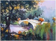 Thomas W. Schaller「bow bridge」