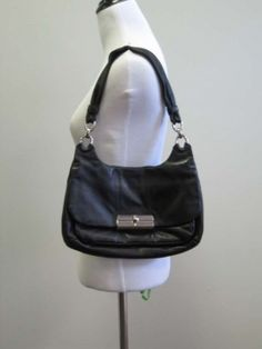 Coach Black Designer Purse Shoulder Bag $87