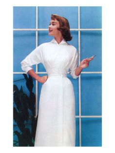 Vintage Nurse Dress... corsets sold separately!