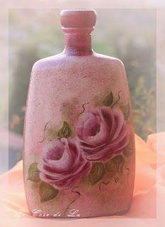 Il Vetro (parte II) - La bottiglia dipinta