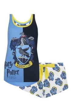 Ravenclaw Harry Potter PJ Set>>> Do my eyes deceive me or is this ACTUAL RAVENCLAW MERCHANDISE?