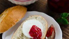 Jahodovo-čerešňový džem