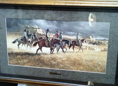 Framed Frank McCarthy Signed Print - Heading Back in Art | eBay