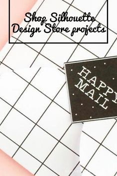 DIY Happy Mail Seals - Send your packages with these sweet seals. Your friends and family will love them. Silhouette Projects, Silhouette Design, Design Projects, Craft Projects, Studio Software, Happy Mail, Seals, Cards Against Humanity, Store