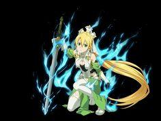 Leafa Sao, Asuna, Sword Art Online, Online Art, Sao Characters, Fictional Characters, Animation Sketches, Princess Zelda, Girls