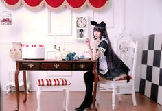 Maid Cafe Resource #maid French Maid Dress, Spring Spa, Maid Cosplay, Just Beauty, Cute Little Girls, Lolita Fashion, Poses, Asian Beauty, Asian Girl