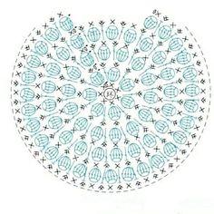Free Crochet, Decorative Plates, Outdoor Blanket, Charts, Ivory, Friends, Crochet Motif, Mandalas, Amigurumi