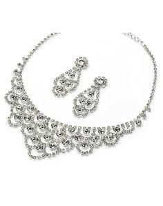Davina Chandelier Jewelry Set JS-1394 by Davina Chandelier Jewelry Set JS-1394 // More from Davina Chandelier Jewelry Set JS-1394: http://www.theknot.com/gallery/wedding-jewelry/usabride