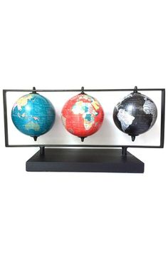 MG Decor World Globes (Set of 3) (Nordstrom Exclusive)