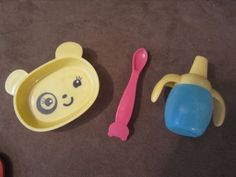 Christmas 2016 gift for our beautiful granddaughter.  Baby Alive Hasbro Bowl, Spoon & Sippy Cup replacement so my little baby can feed her little baby doll.  She has a Baby Alive My Baby All Gone Doll at both her house and another at our house so when she visits us she won't have to worry about forgetting to bring toys to Gmama & PaPa's.  Thank God she already has these dolls and they both work perfectly, because they're now discontinued and selling for $100 -$250.  Great dolls, but UMM-NO!