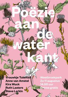 Poëzie aan de waterkant | Studio Het Mes